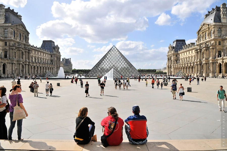 Франция, Лувр, France, Louvre