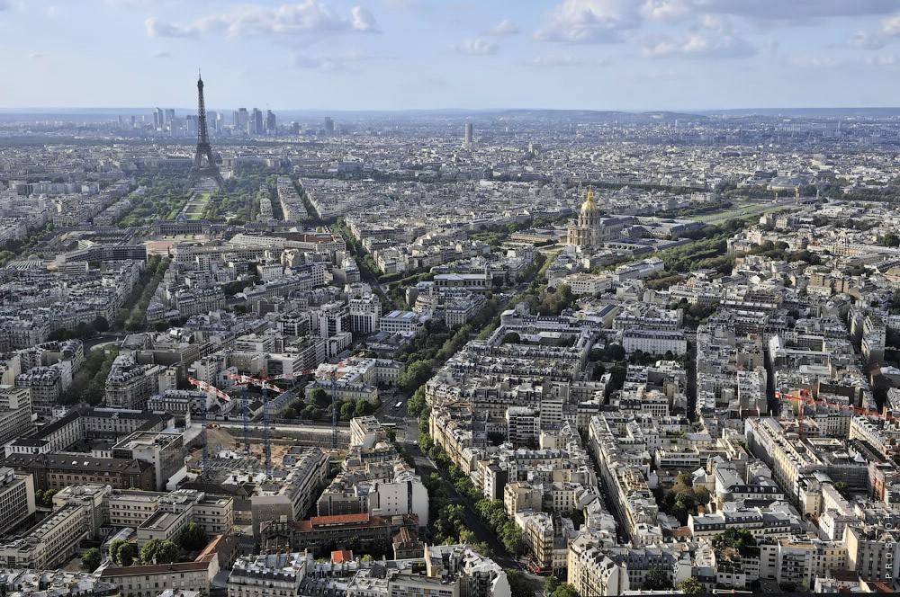 Париж с высоты 200м, Paris