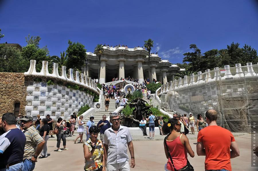 Испания, Барселона, Парк Гауди